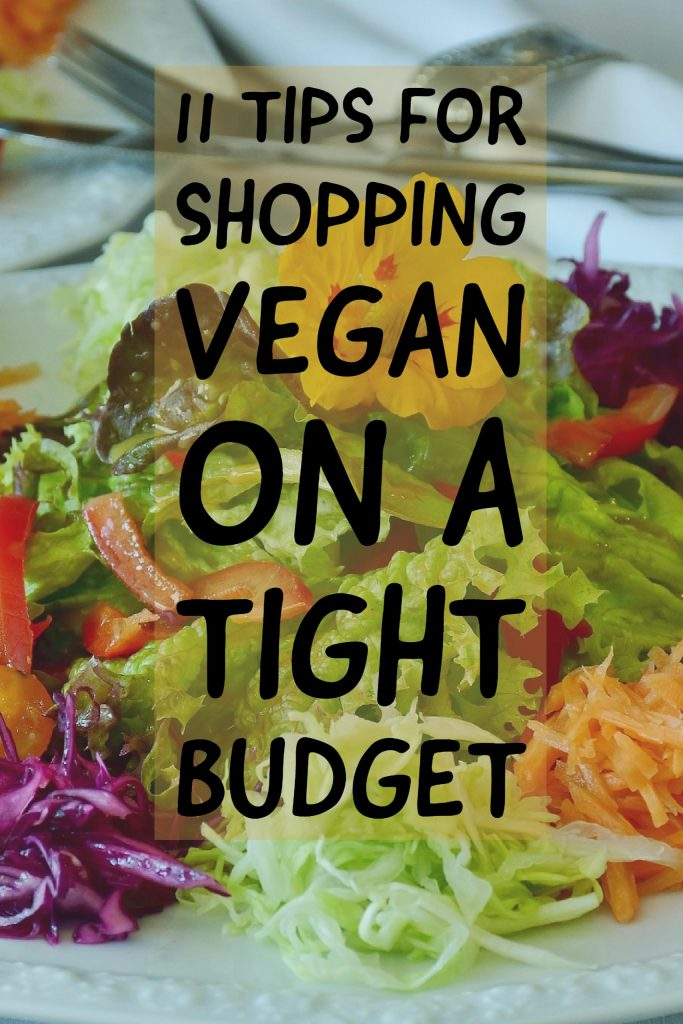 11 Tips to Shopping Vegan on a Budget