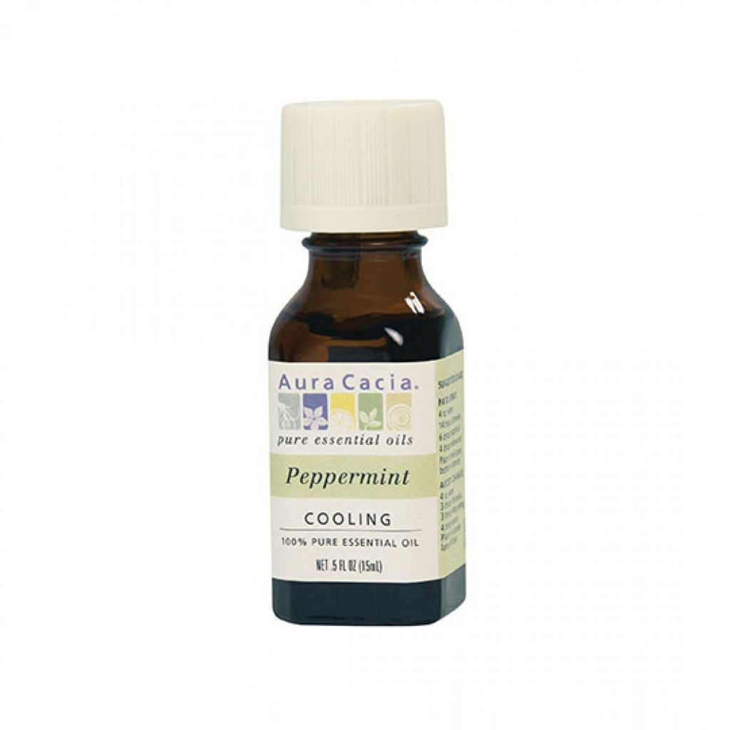 Aura Cacia peppermint oil