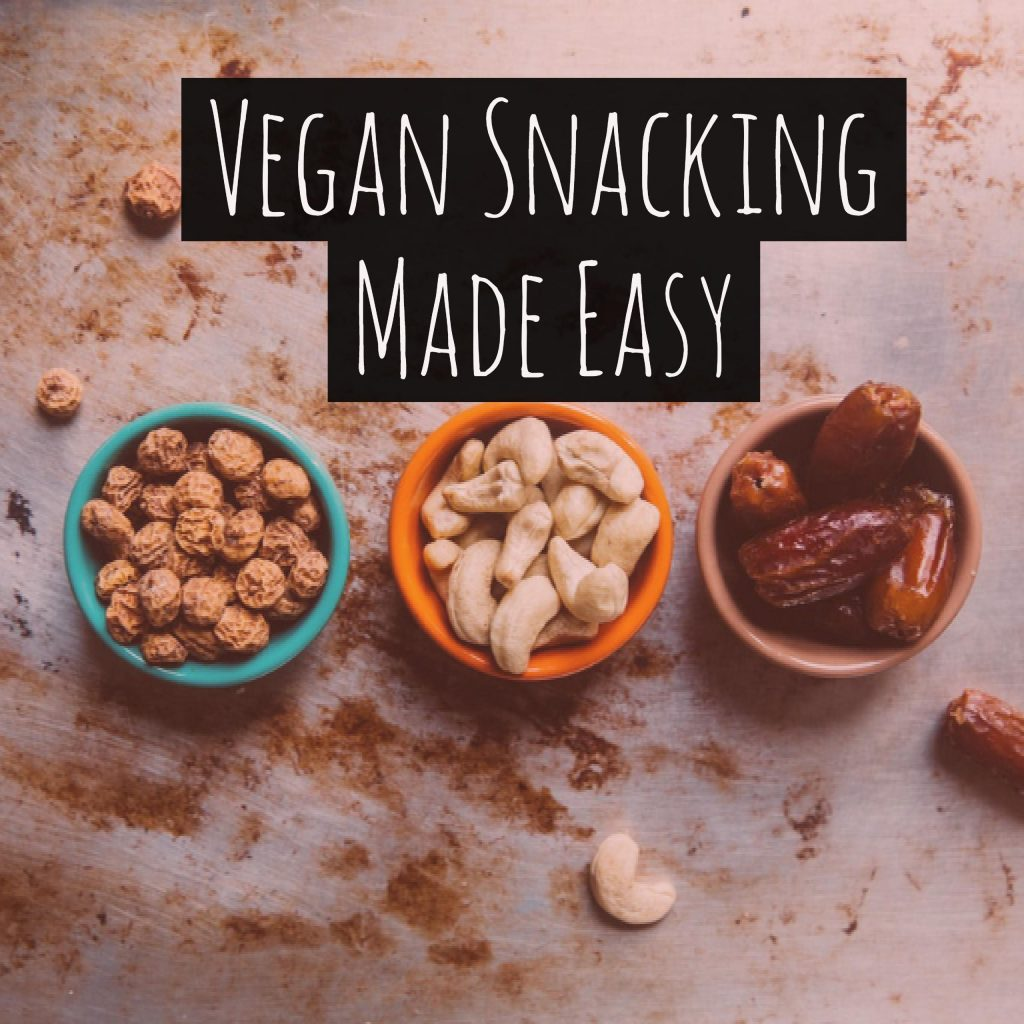 Vegan snacks made easy