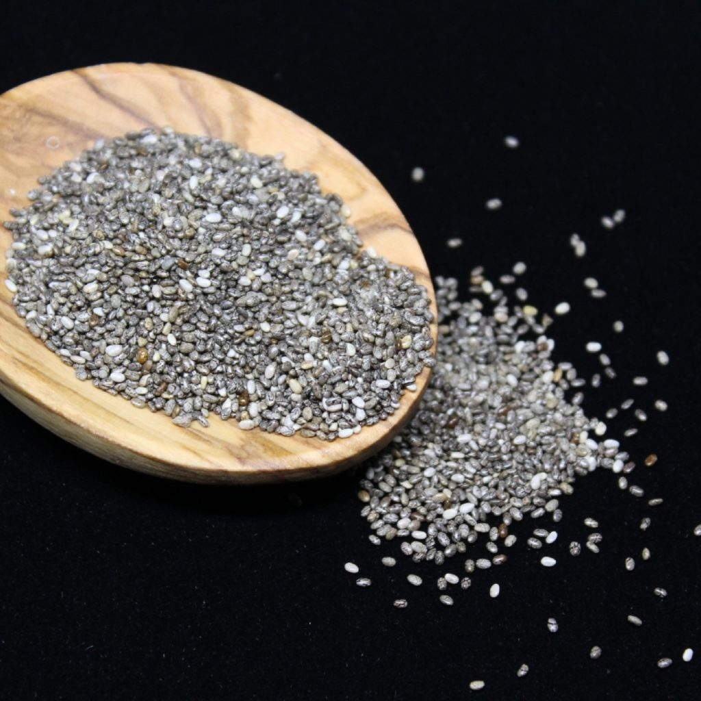 lower inflammation chia seeds