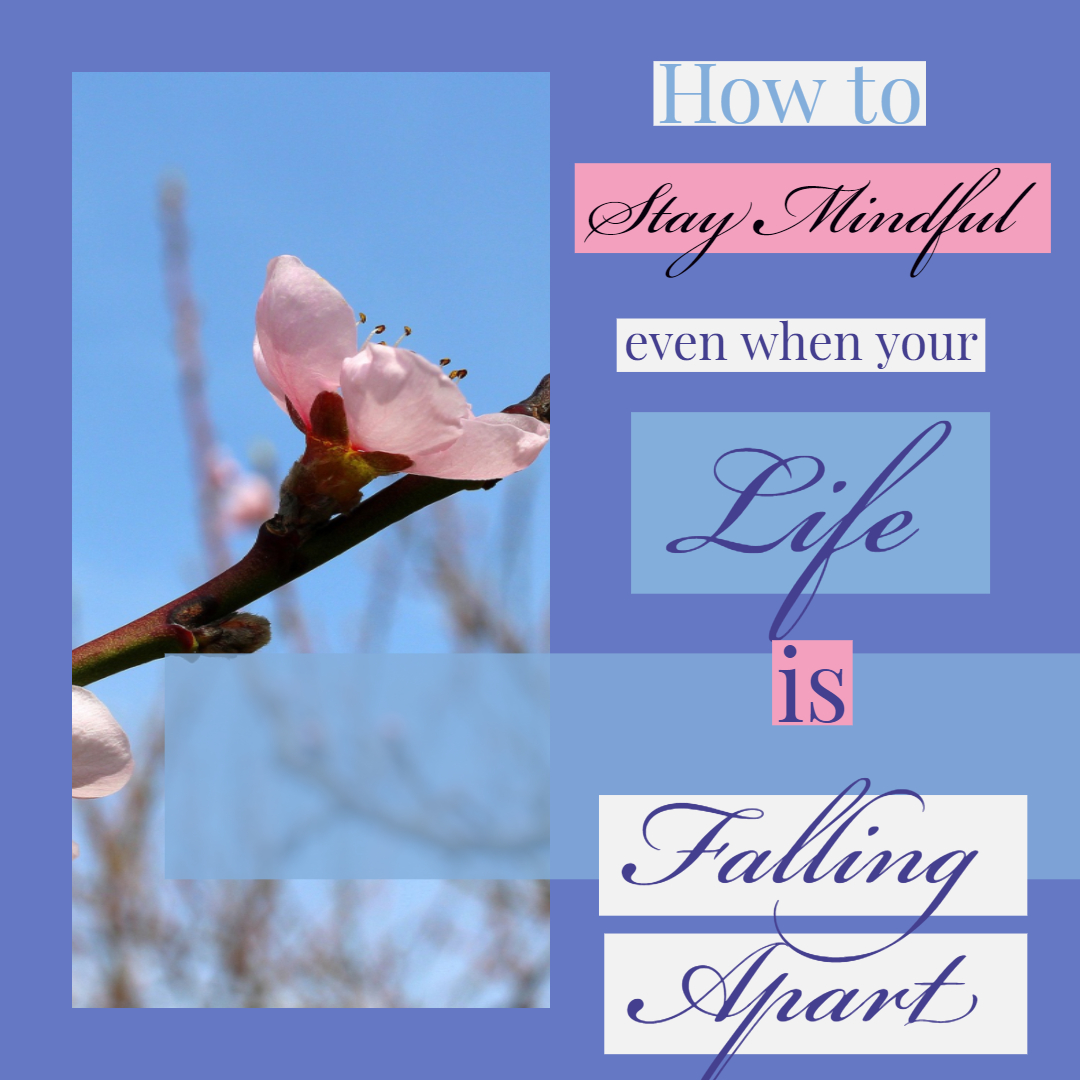 How to stay mindful even when your life is falling apart