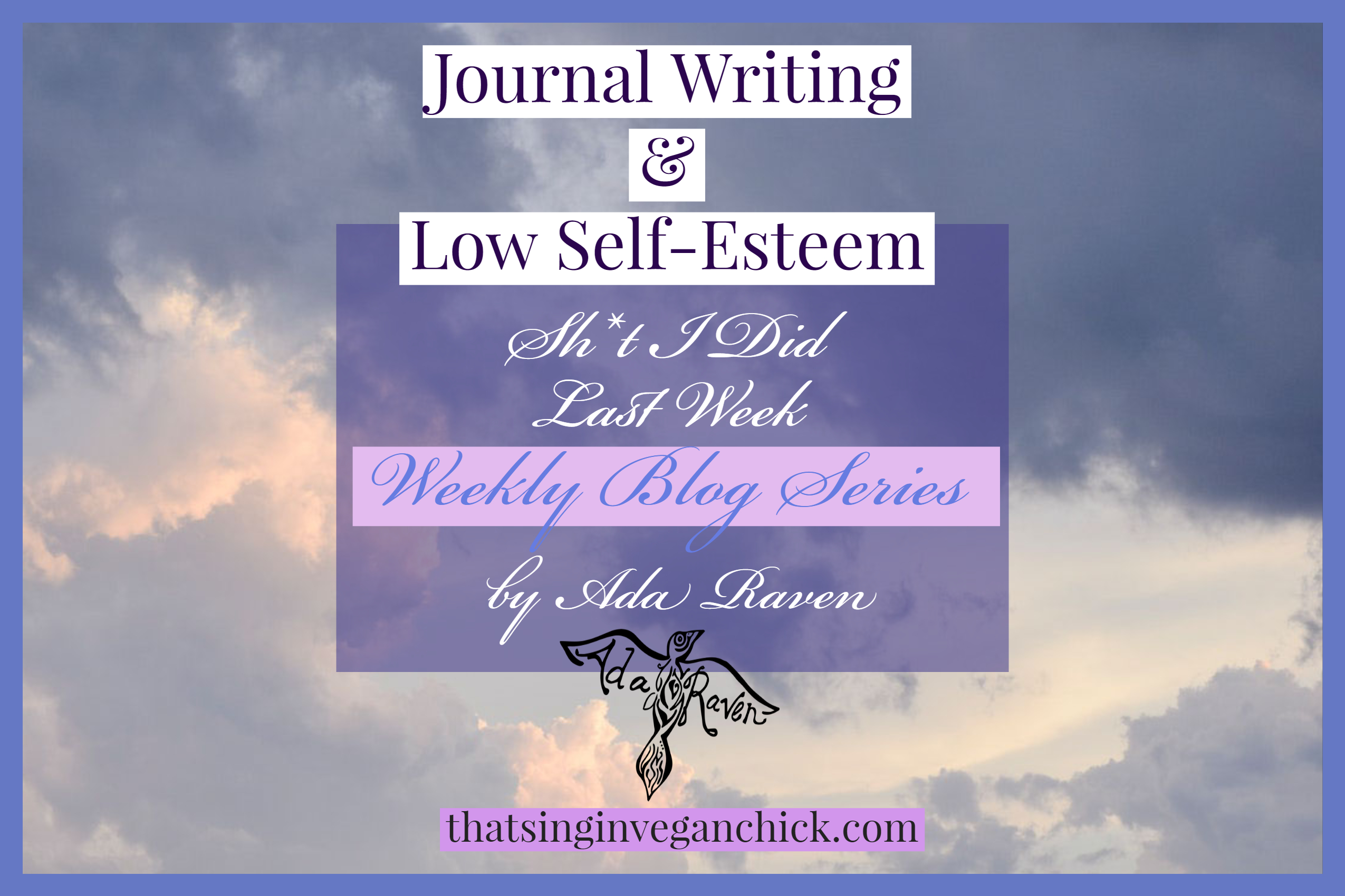 journal writing and low self esteem